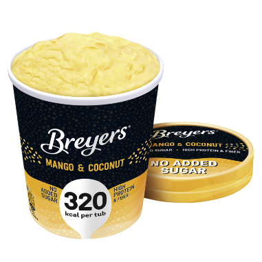 Breyers 465ml Mango & Coconut Pint